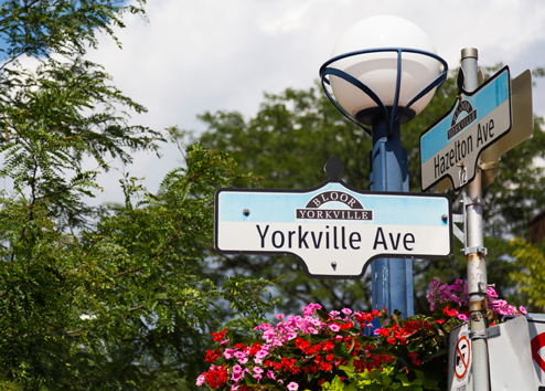 An exclusive lifestyle living near Yorkville for luxury condo residents in Toronto