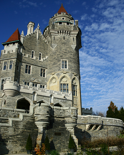 The amazing Casa Loma in Toronto