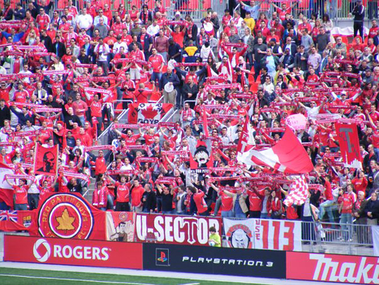 Enjoying Toronto FC Home Games for Residents of The Davies Luxury Living New Condo Projects Toronto