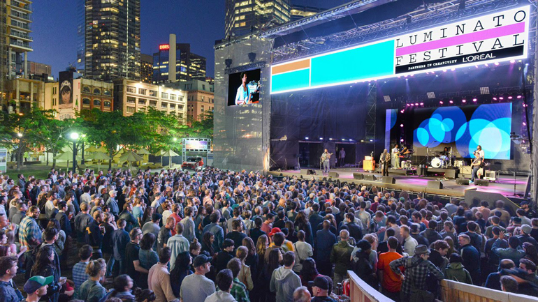 Reasons why the upcoming 2016 Luminato Festival in Toronto for downtown residents is a top must-see attraction