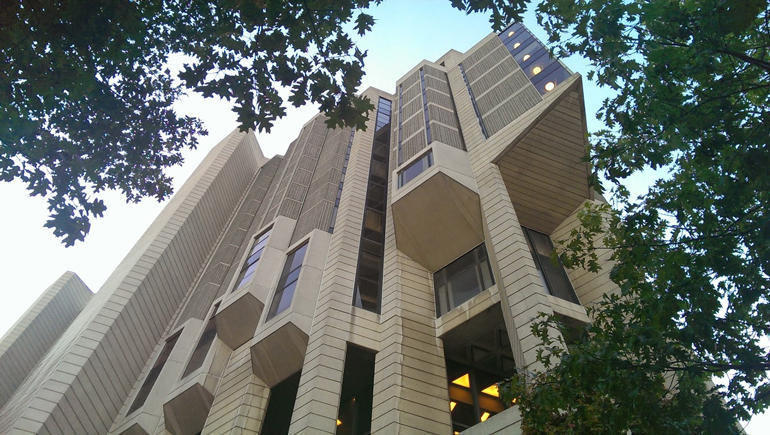 Front View of Robarts Library