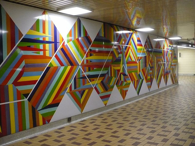 St Clair West Station Art