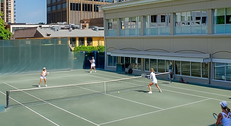 An Intimate Club Experience at The Badminton & Racquet Club for Residents of The Davies