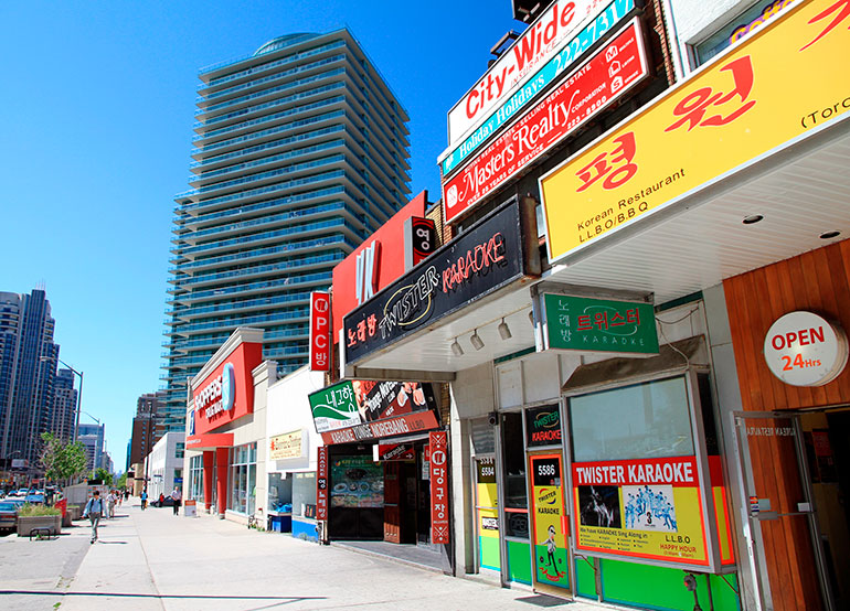 Exploring Koreatown – Things to do for Residents of New Condos for Sale Toronto