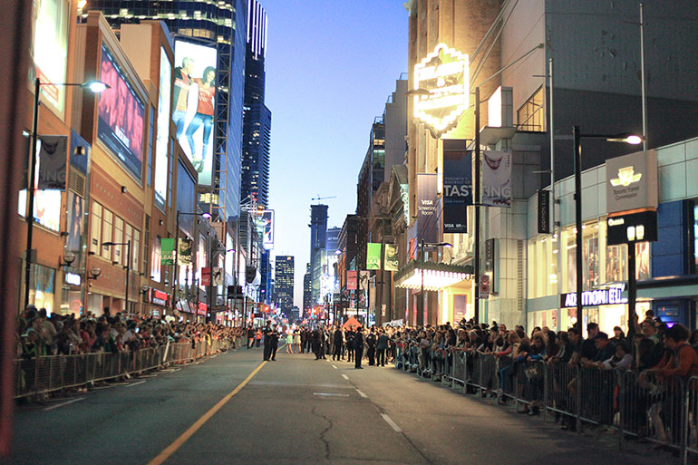 Walk Down The Red Carpet with Celebrities at TIFF